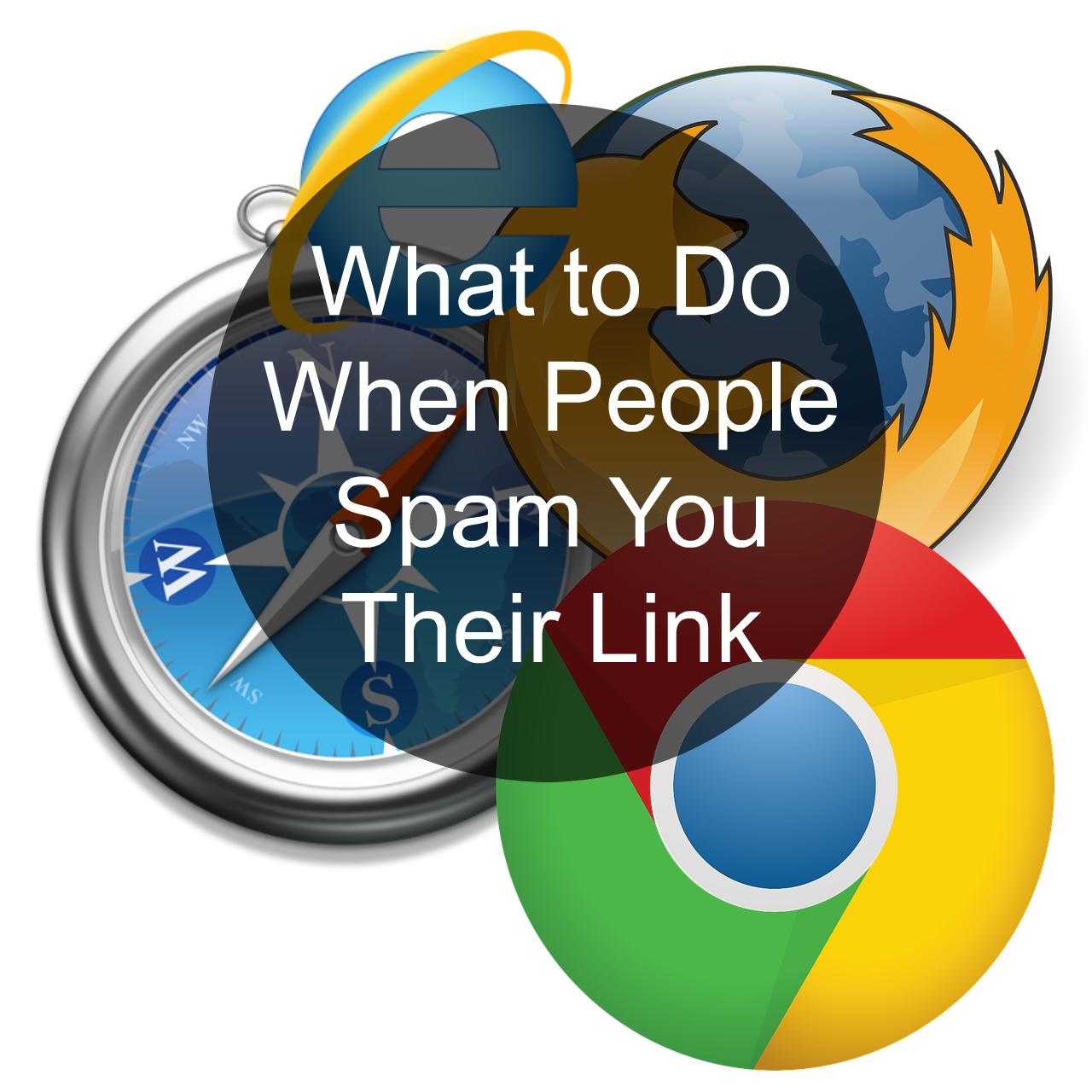 What to Do When People Send Their MLM Link