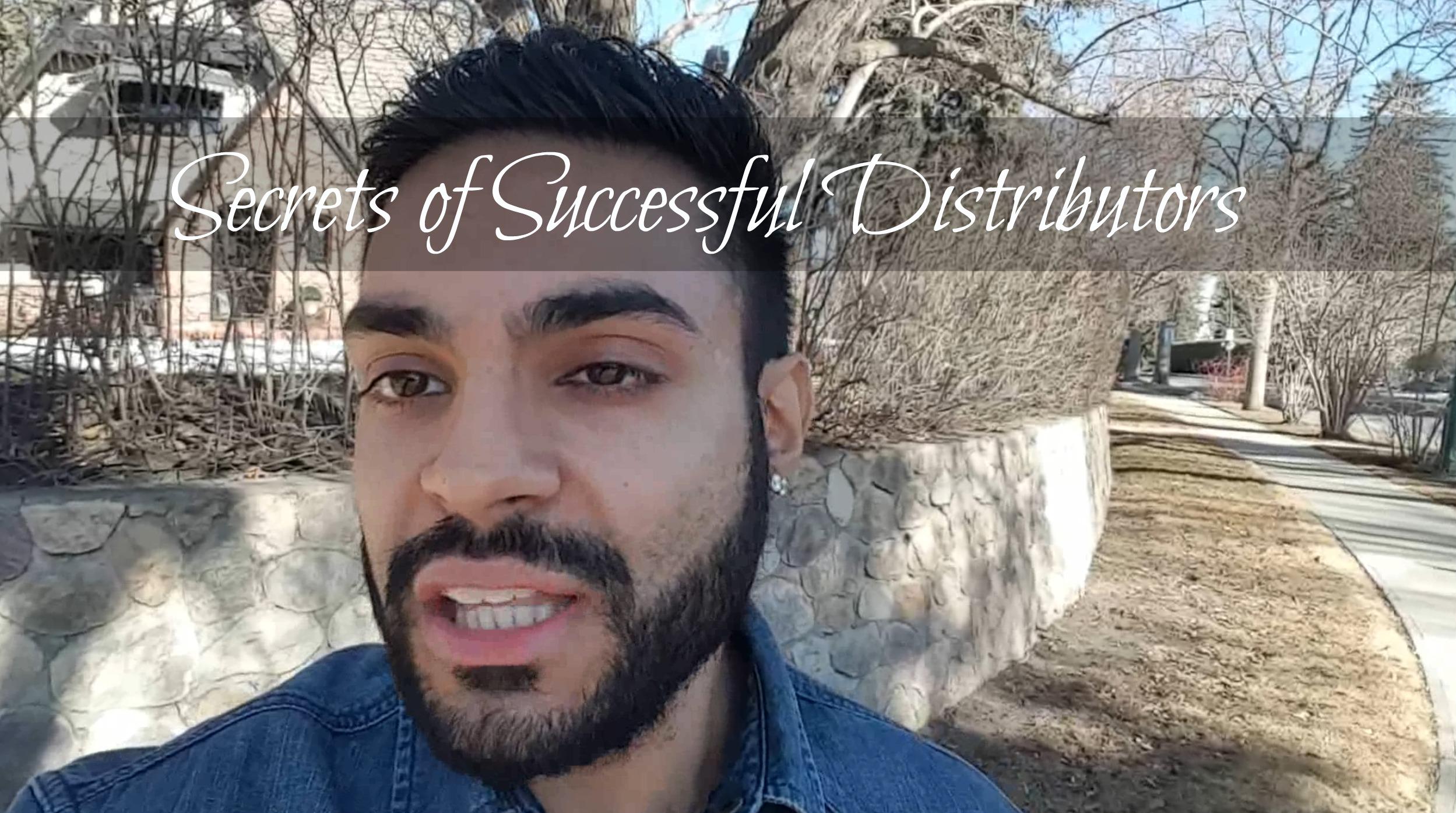 Secrets of Successful MLM Distributors