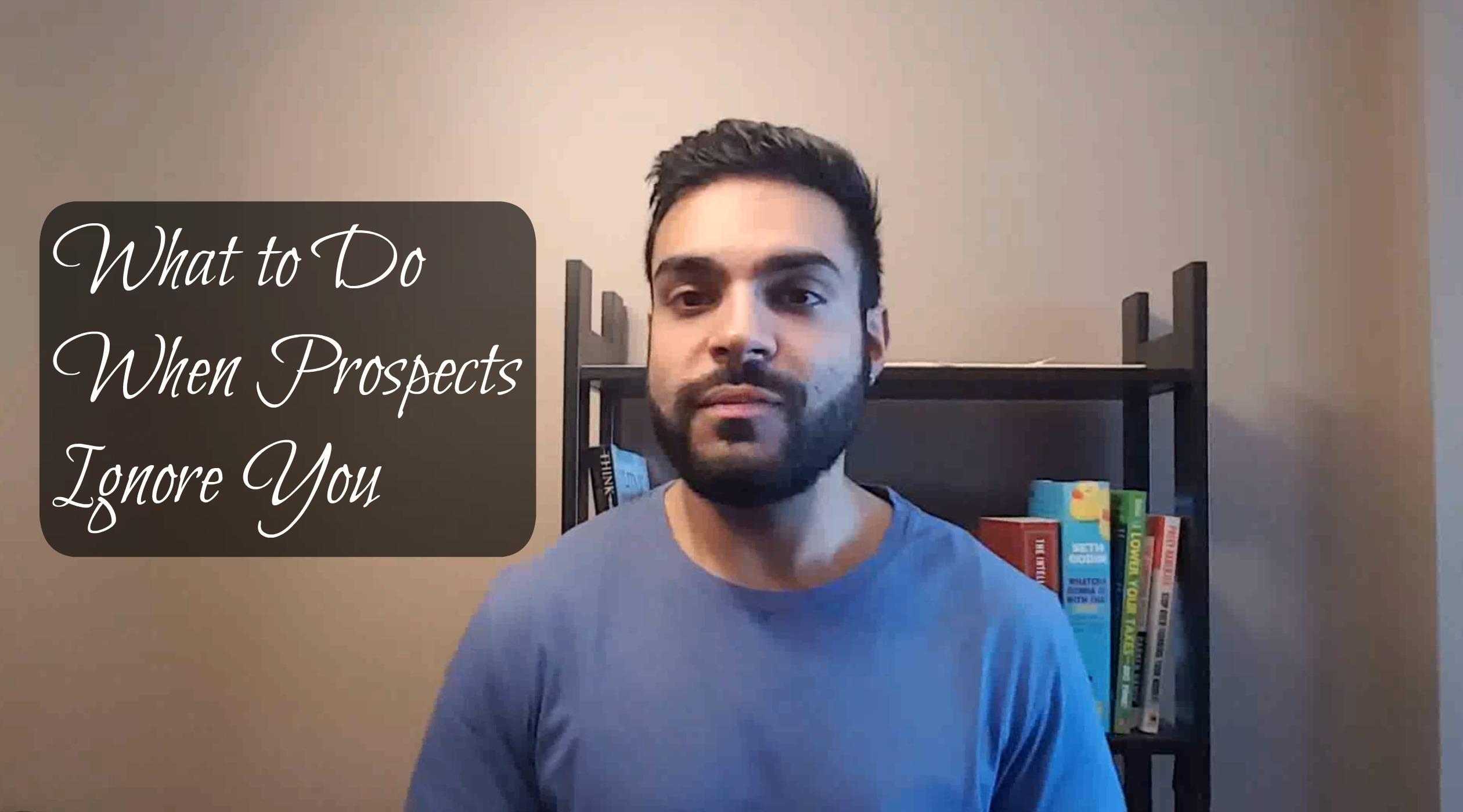 Network Marketing Prospects Ignoring You?