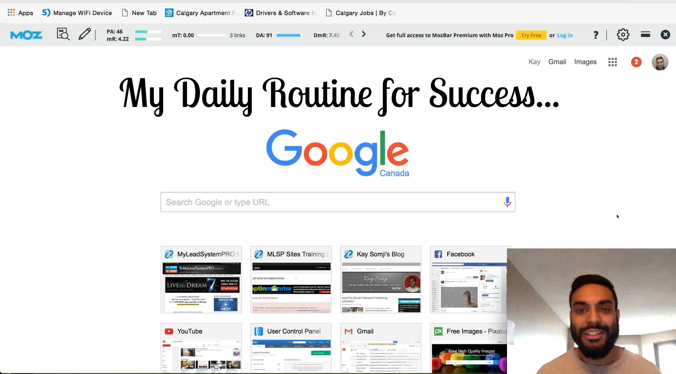 MLM Daily Routine for Proven Success