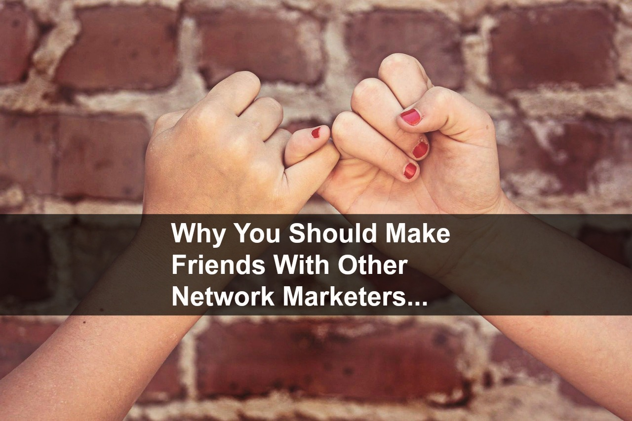 Why You Need to Make Friends With Other Network Marketing Professionals