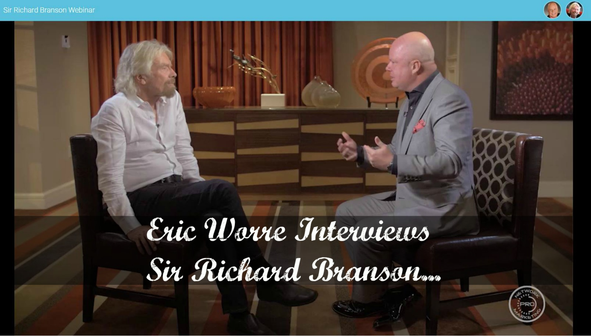 Richard Branson Network Marketing Interview Recap