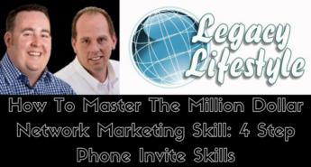 million dollar network marketing skill