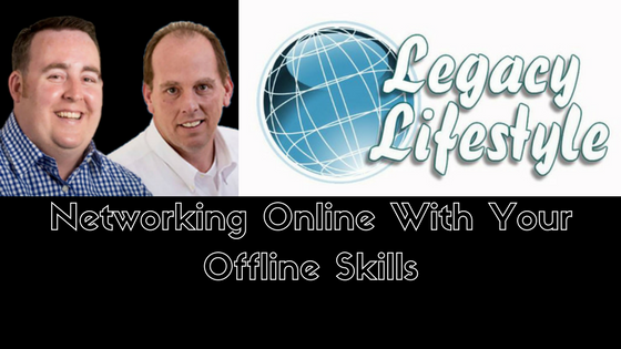 Networking Online With Your Offline Skills