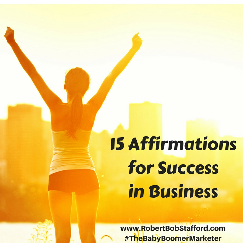 15 Affirmations for Successin Business