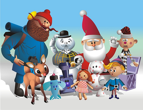 Welcome To The Island Of Misfit Toys!