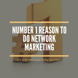 No 1 Reason To Do Network Marketing