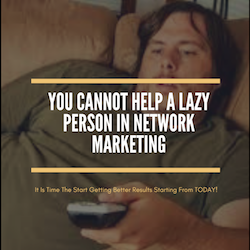 Can I Help A Lazy Person?