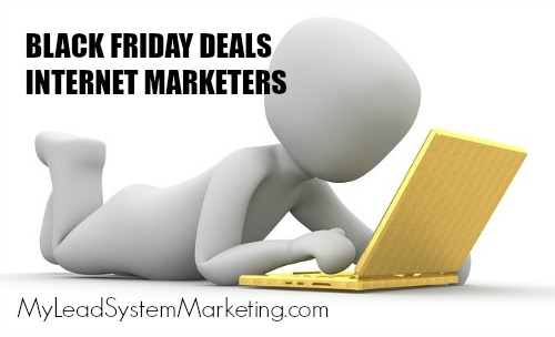 Black Friday Deals Internet marketers