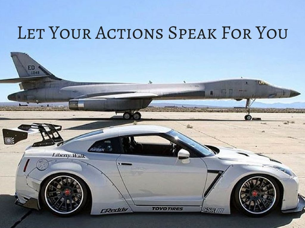 What Does Your Actions Say?