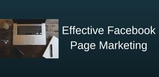 Facebook PageMarketing