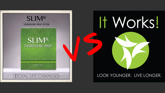 SlimR Body Wraps vs It Works Body Wraps