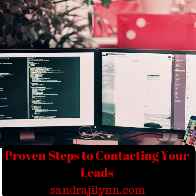 Proven Steps to Contacting Your Leads