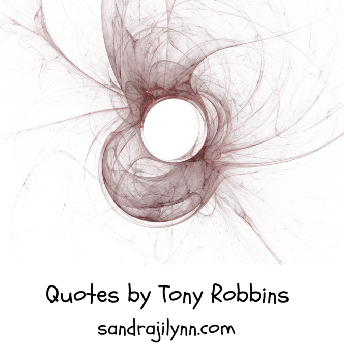 Quotes by Tony Robbins (1)
