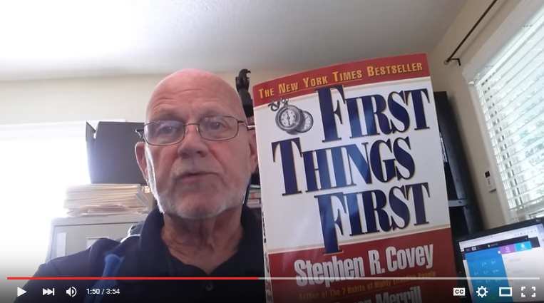 Do You Put The First Things First?