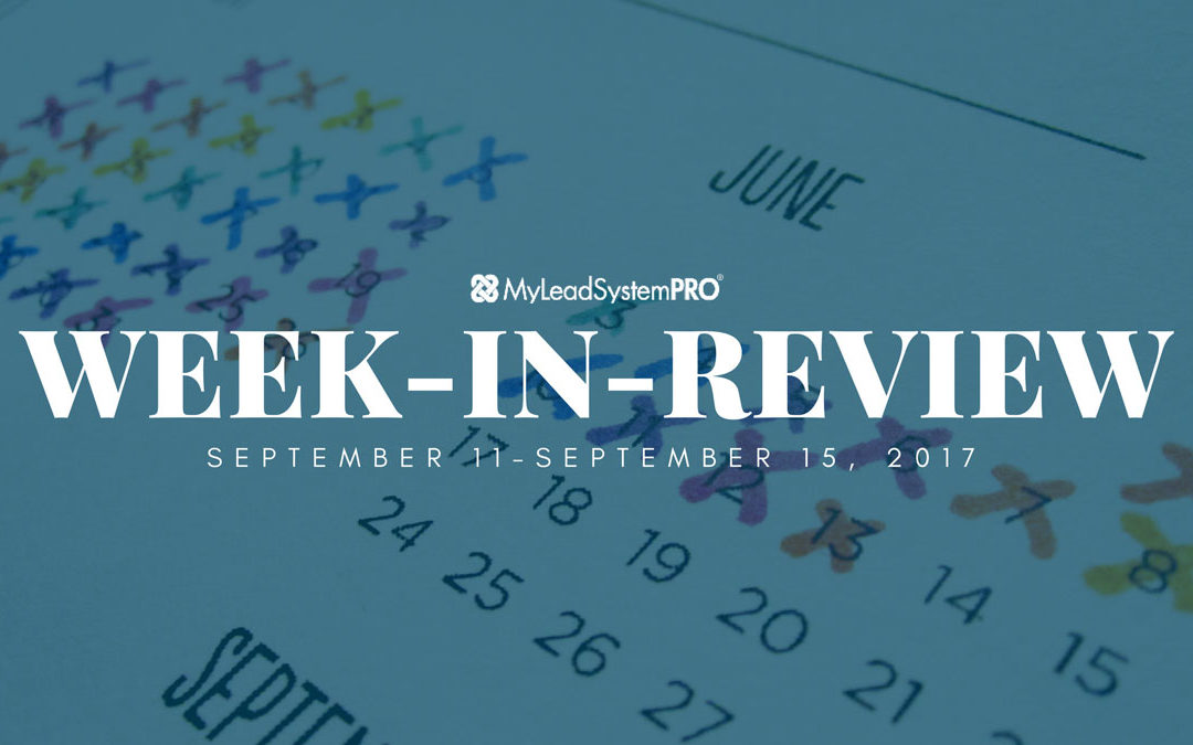 [MLSP Week In Review]WOW!  All This Happened In Just 1 Week!!!