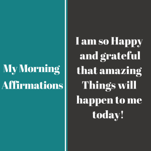 My Affirmations5