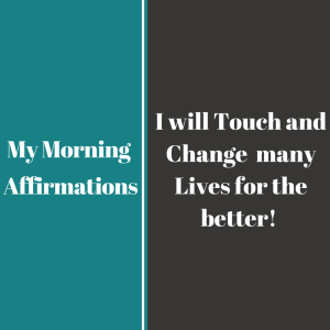 My Affirmations8
