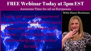 FREE Webinar Today at 3pm EST