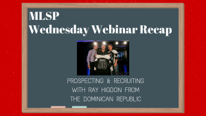 Wednesday Webinar Recap 4-27-16