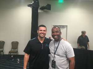 Ray Higdon with Mike Gaston