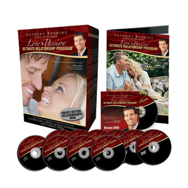 Tony Robbins Programs Ultimate Relationship Program Love and Passion