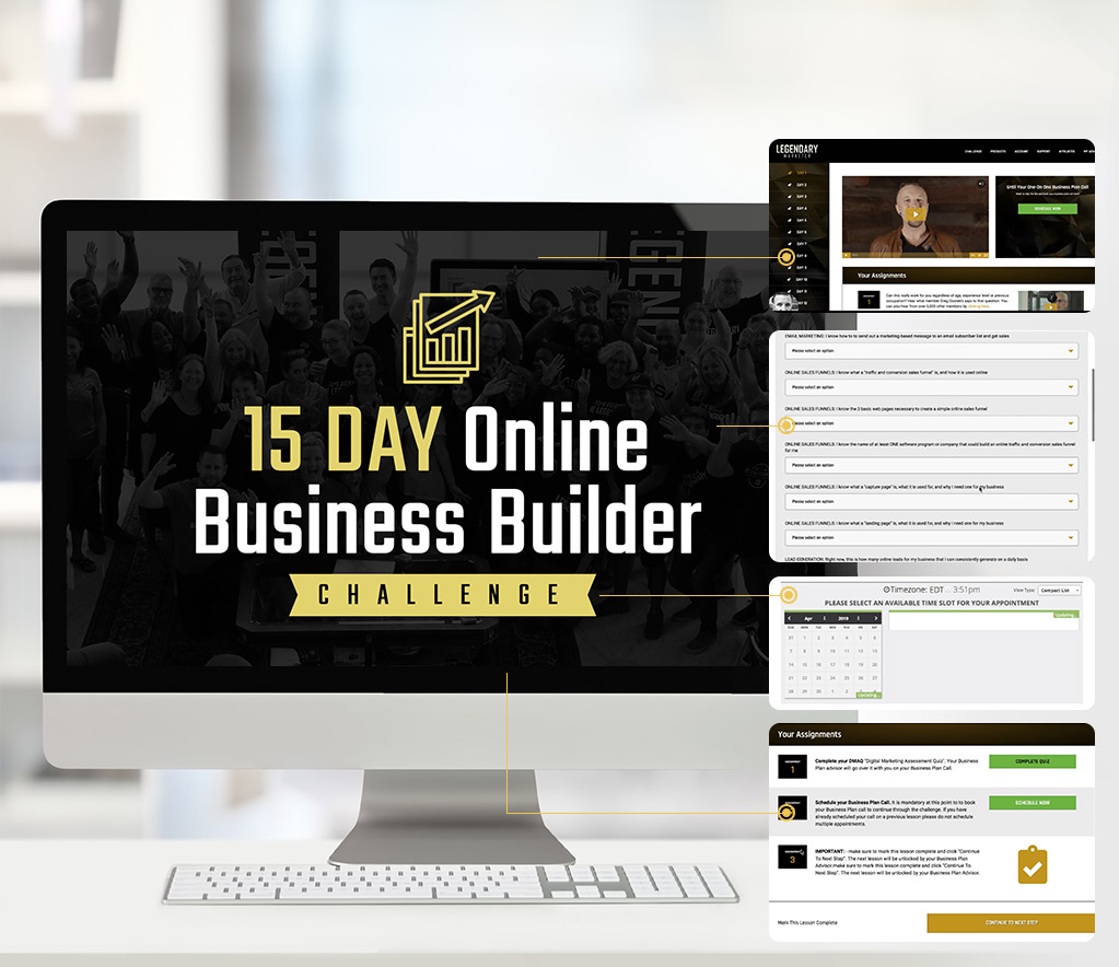 Legendary Marketer Review 15 Day Online Business Challenge