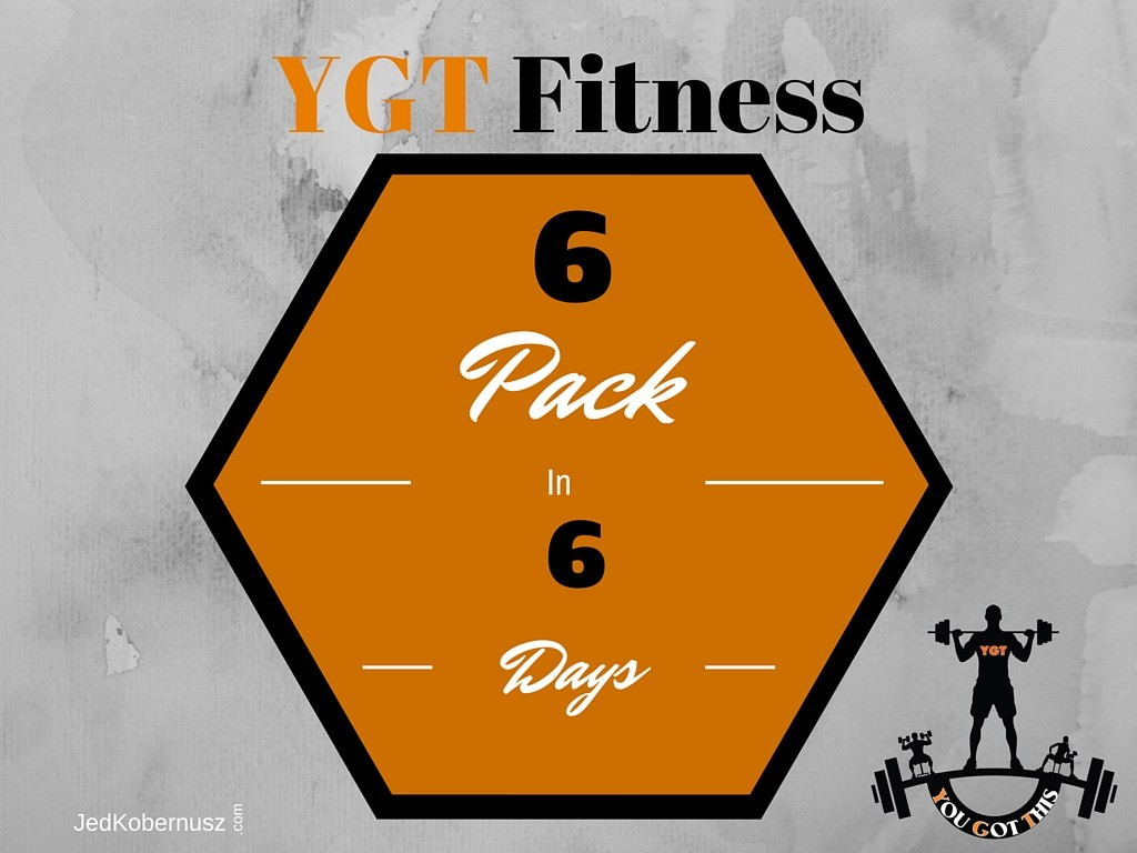 6 Pack In 6 Days Video Series