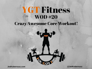 Crazy Awesome Core Workout