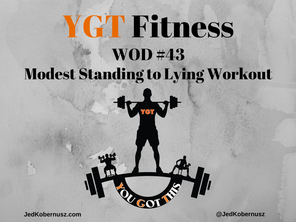 Modest Standing To Lying Workout
