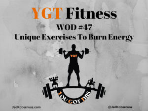 Unique Exercises To Burn Energy