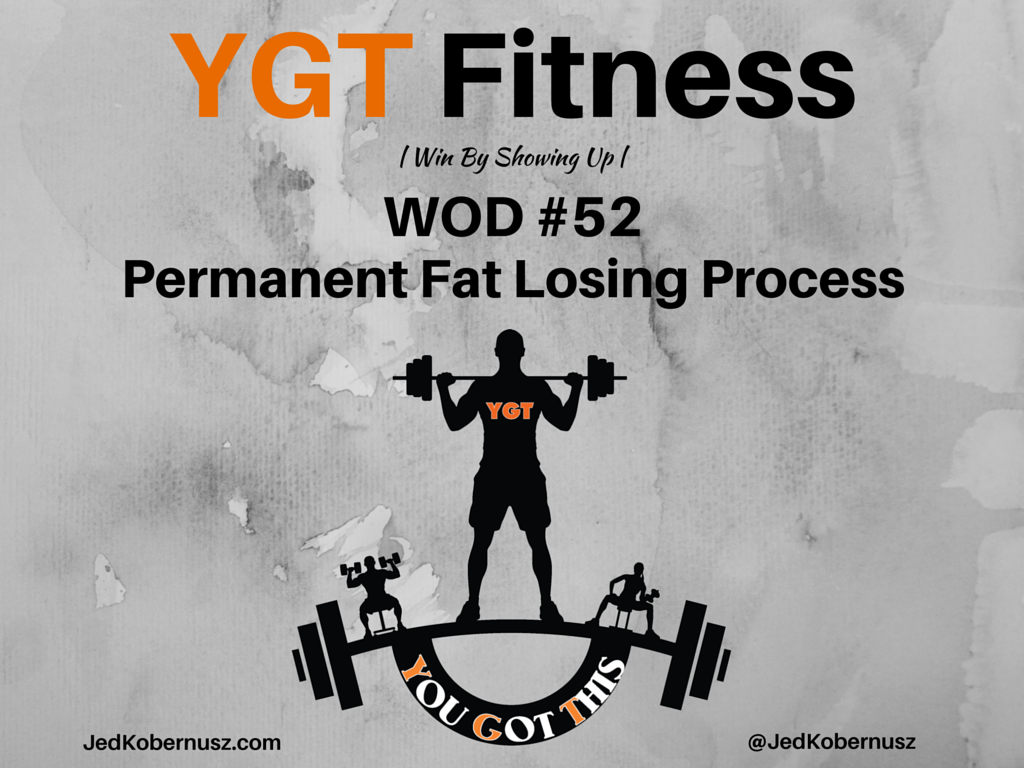 Permanent Fat Losing Process