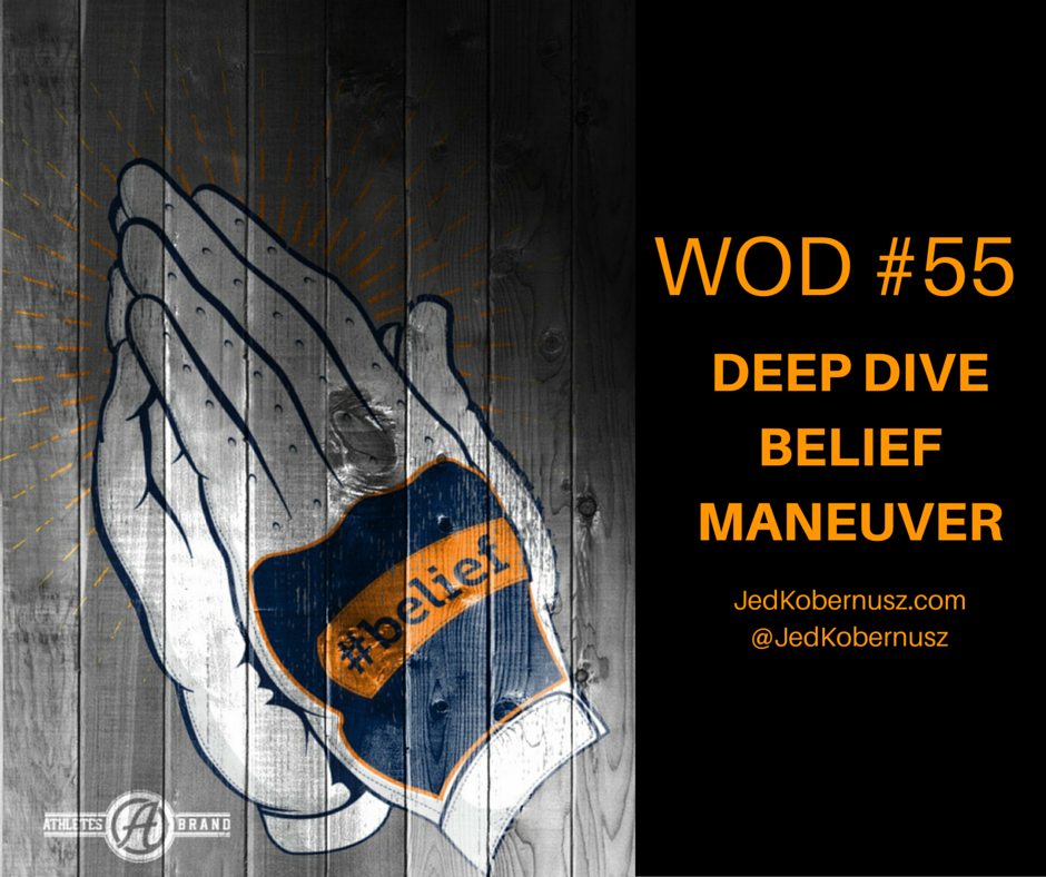 Deep Dive Belief Maneuver