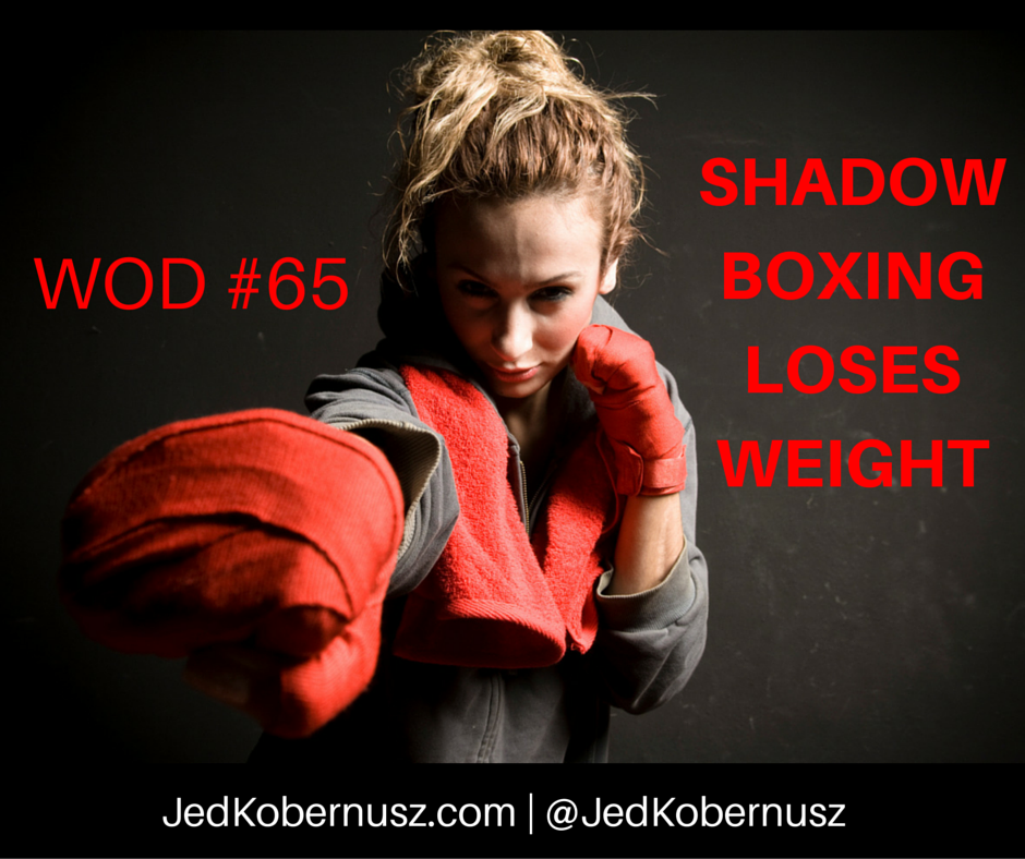 Shadow Boxing Loses Weight