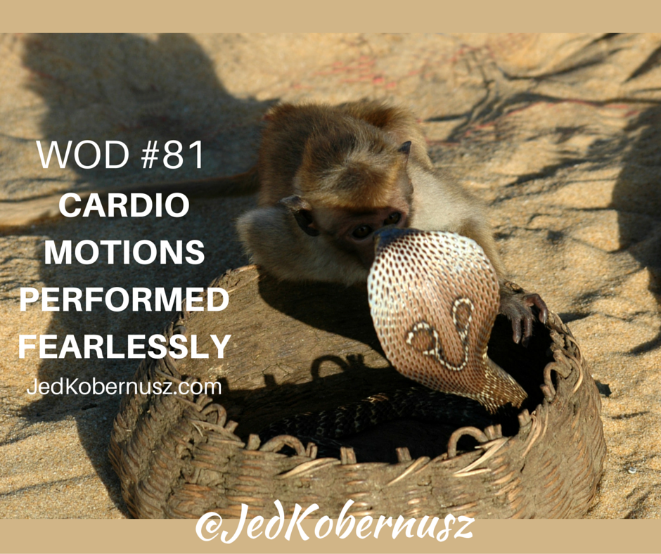 Cardio Motions Performed Fearlessly