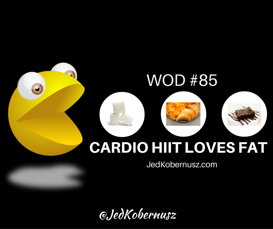 Cardio HIIT Loves Fat