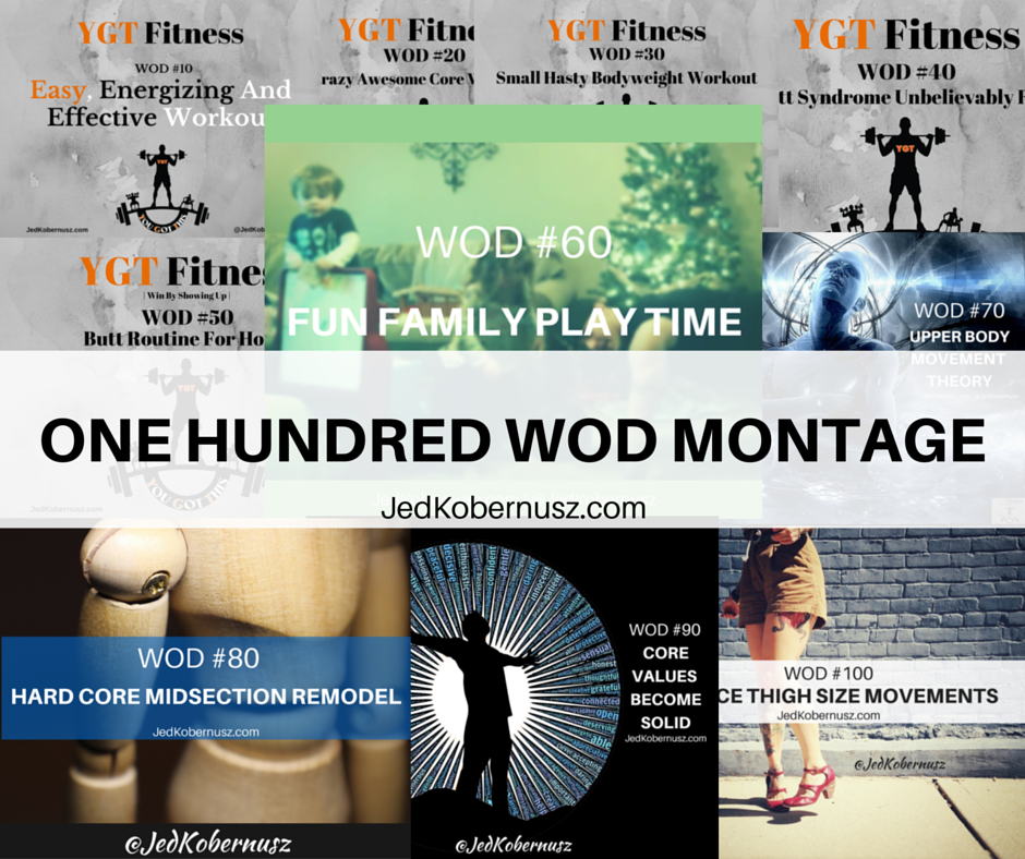One Hundred WOD Montage