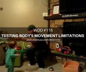Testing Body's Movement Limitations