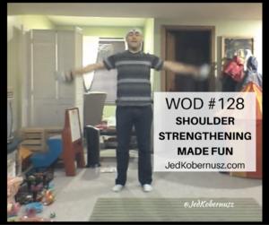 Shoulder Strengthening Made Fun