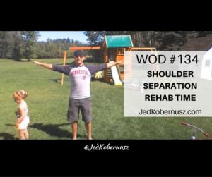 Shoulder Separation Rehab Time