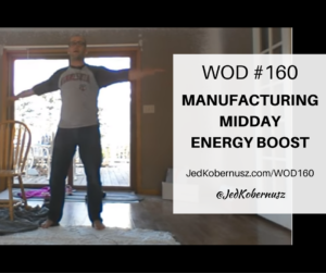Manufacturing Midday Energy Boost