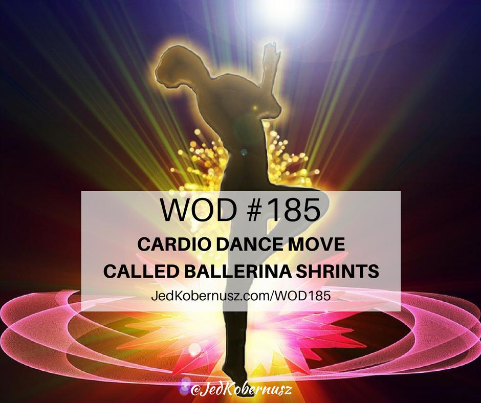 cardio dance move called ballerina shrints
