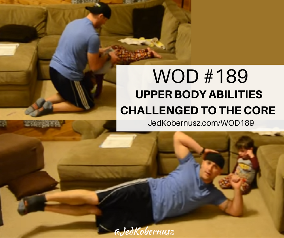 upper body abilities challenged to the core