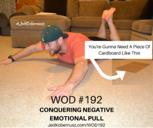 Conquering Negative Emotional Pull