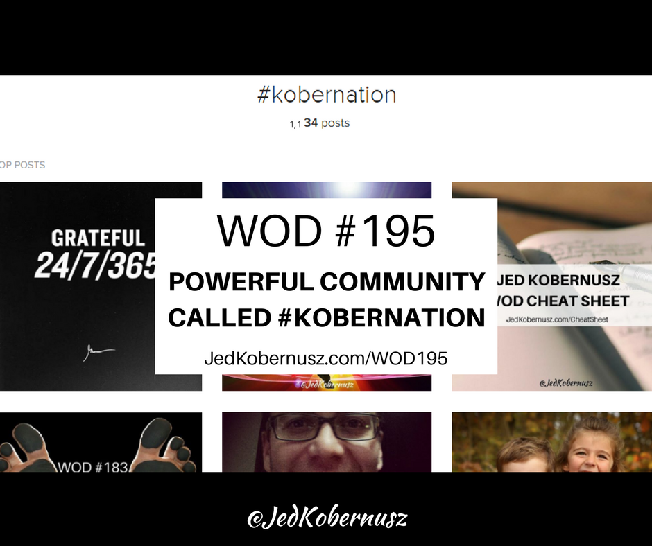 Powerful Community Called Kobernation