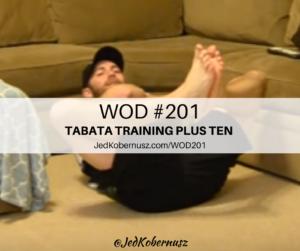 Tabata Training Plus Ten Seconds