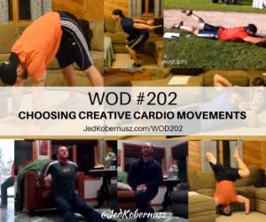 Choosing Creative Cardio Movements