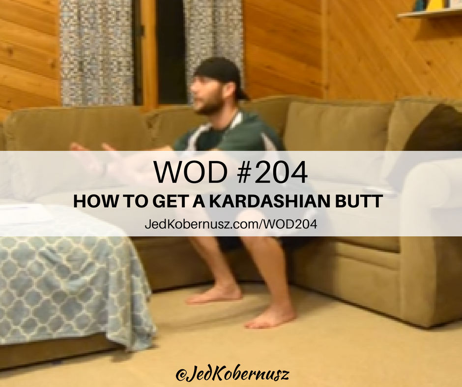 How To Get A Kardashian Butt