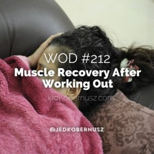 Muscle Recovery After Working Out