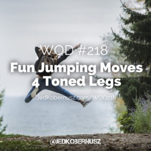 Fun Jumping Moves 4 Toned Legs